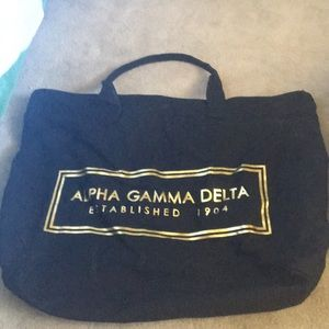Handbags - Alpha Gamma Delta bag